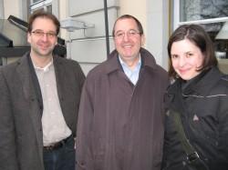 Jan Kiegeland, David Wrigley, Alice Beckmann foto:M.Pleitgen