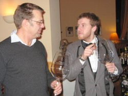 Rolf Paasburg und Billy Wagner foto:eigen