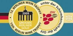 Medaille der Berliner Weintrophy