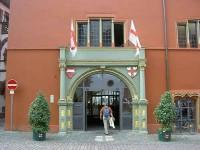 Freiburg im Breisgau, Rathaus-Eingang foto:rs-foto