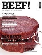 BEEF! Cover der ersten Ausgabe