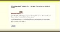 Online Umfrage der Weinakademie Berlin