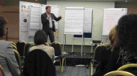 @luebue (Wolfgang Lünenbürger-Reidenbach) bei seinem Vortrag in München
