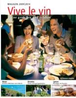 "Magazin Titel ""Vive le Vin"""