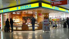 Edeka am Münchener Flughafen