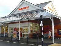 Neuer Sainsbury's Markt in Kinross/Schottland
