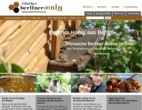 Vernasche Sonne im Glas - neue Website mit Berliner Honig