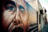 Obama Grafitti in Brooklyn