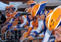 Team Rabobank bei der Tour