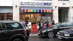 Ritter Sport Bunte Schokowelt in Berlin foto:mpleitgen
