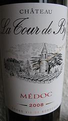 Bewußt auf CRU BOURGEOIS verzichtet - La Tour de By