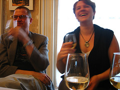 Wein animiert zum Feiern
