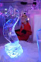 Nacht der guten Weine - die Fränkische Weinkönigin im Eispalast foto: Dirk Lehmitz/Weinhaus am Stadtrand