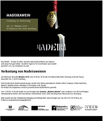 Madeira Tasting und Seminar