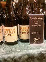 Beaujolais Primeur 2010