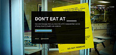 Don't Eat at__  App