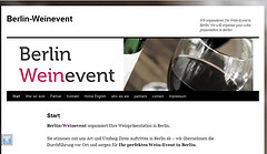 Berlin Weinevent Homepage
