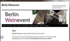 Berlin Weinevent Homepage