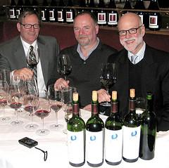 Michael Silacci, Michael W. Pleitgen, Roger Aleson im Berlin foto:mpleitgen
