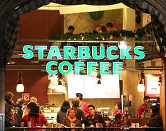 Starbucks in Frankfurt foto:re-ality/flickr