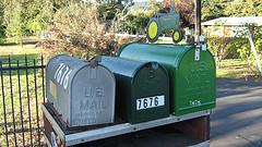 Postboxes im Sonoma-County