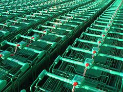 Supermarkt Trolley
