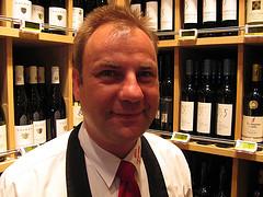 Roland Adrian beim Frischecenter Zurheide Düsseldorf