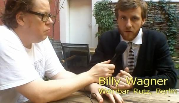Daniel Mayer mit Billy Wagner von der Weinbar Rutz