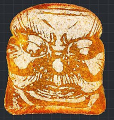 Das Böse - nur eine Scheibe Toast
