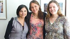Katherine, Alejandra und Susana von Brandabout Santiago