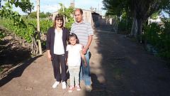 Marcela und Oscar Bordegnon produzieren Trauben für Fairtrade Wein foto:mpleitgen Weinakademie Berlin