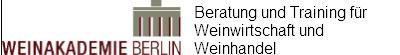 Weinakademie Berlin