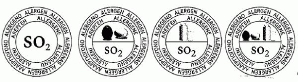Vorschläge für Piktogramme mit Hinweisen für Allergiker Quelle: Entwurf VO Allergenkennzeichung