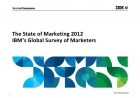 IBM State ofe the Marketing 2012