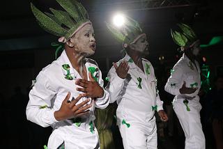 Happy Feet Dancers beim Green Tie Event zur Eröffnung der Cape Wine 2012