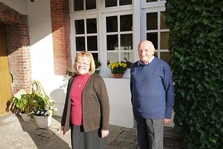 Ginette und Claude Rimaire vom Parva Domus in Epernay