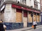 Geschlossenes Pub in London
