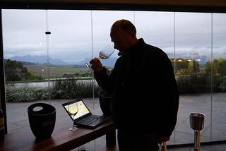 Tasting at Jordan Wines Stellenbosch foto:eigen