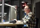 Im Studio beim RBB Inforadio foto:eigen