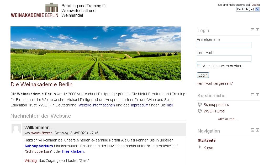 Das neue Selbstlern-Portal der Weinakademie Berlin