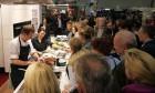 Die Kochstände sind die Attraktion bei der eat&style foto: mpleitgen