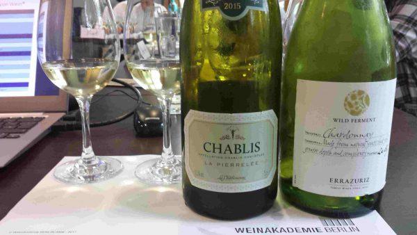 In allen WSET Kursen werden aktuelle Weinmuster verkostet Foto: Weinakademie Berlin