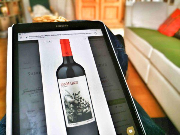 Die Hälfte der Weinkäufer hat bereits online bestellt foto: Michael Pleitgen
