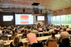 Weinfachhändlertag in der Aula am Bildungscampus Heilbronn